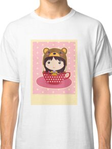 Girl in teacup Classic T-Shirt