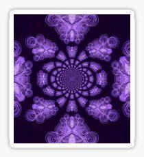 Purple Cross Destiny Sticker