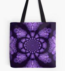 Purple Cross Destiny Tote Bag