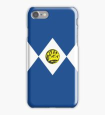 Power Ranger Blue iPhone Case/Skin