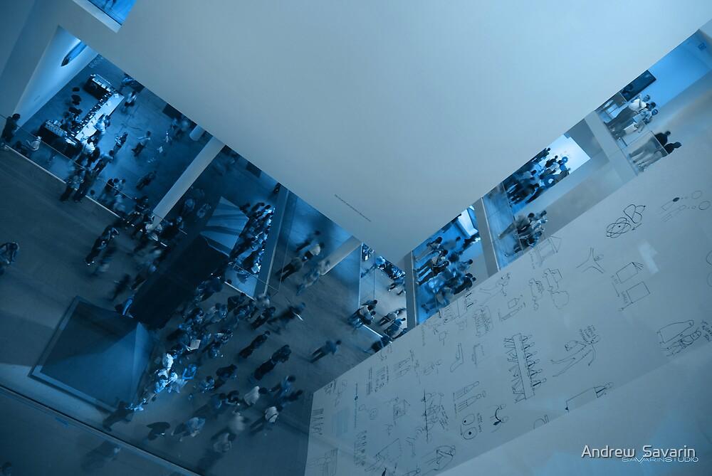 The Museum of Modern Art. New York City by Andrew  Savarin