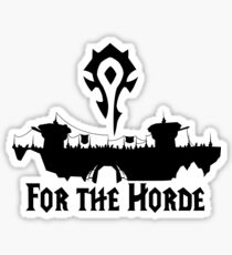 For the Horde Sticker