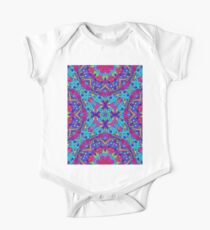 Drawing Floral Doodle G1B One Piece - Short Sleeve