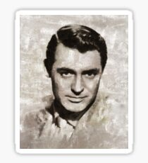 Cary Grant, Vintage Hollywood Actor Sticker