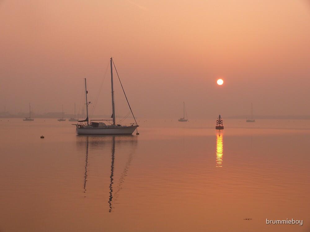 Foggy Dawn by brummieboy