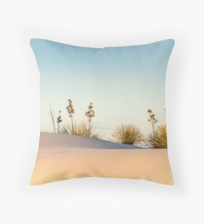 Intrepid survivors Throw Pillow