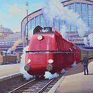 German streamliner. by Mike Jeffries