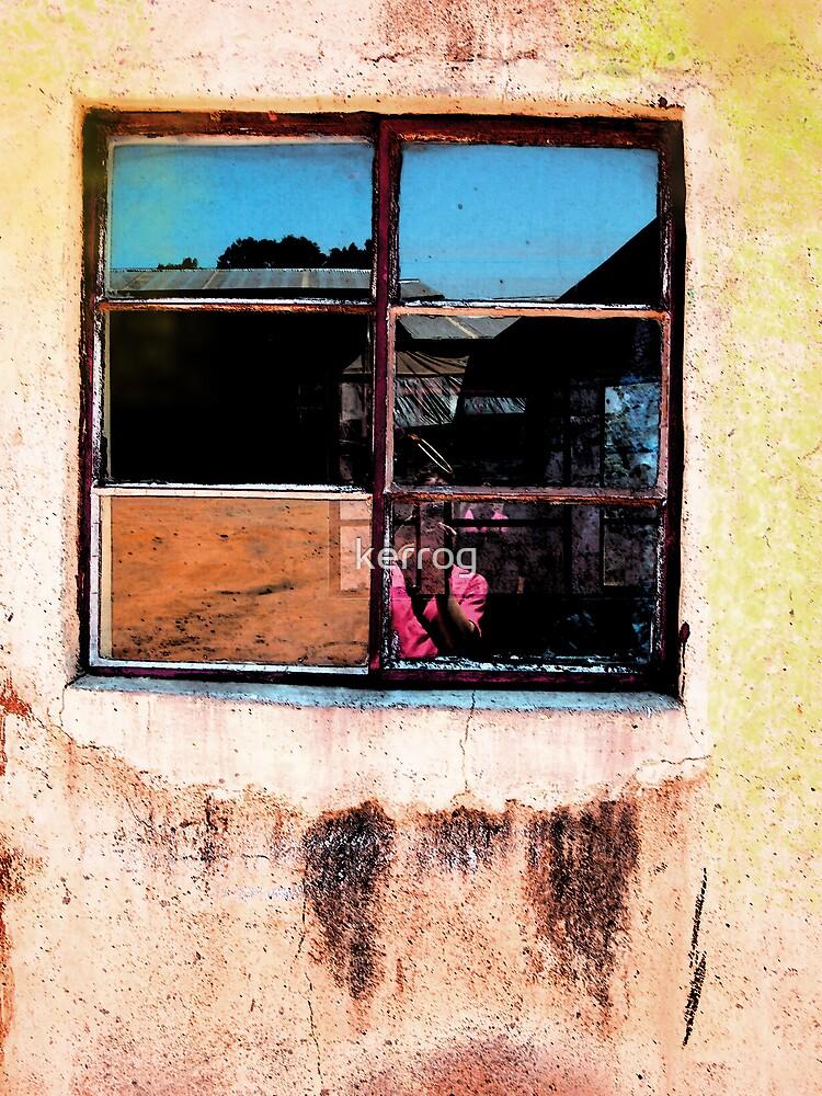 Yellow Window by Kerryn Rogers
