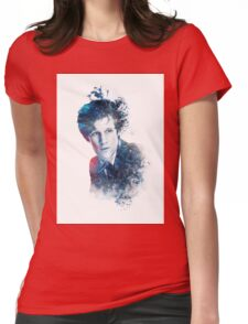 Matt Smith - Doctor Who #11 (white) Womens Fitted T-Shirt