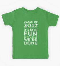 Class of 2017 Graduation Party Kids Tee
