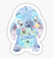 Watercolor Stitch Sticker