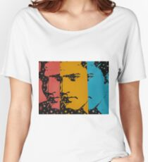 Three faces of Elvis Women's Relaxed Fit T-Shirt