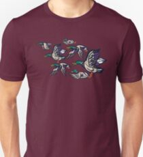 Male Mallard ducks Unisex T-Shirt
