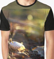 Fall Evening Sun on a Snail Shell  Graphic T-Shirt