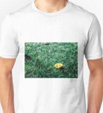 Yellow leaf Unisex T-Shirt