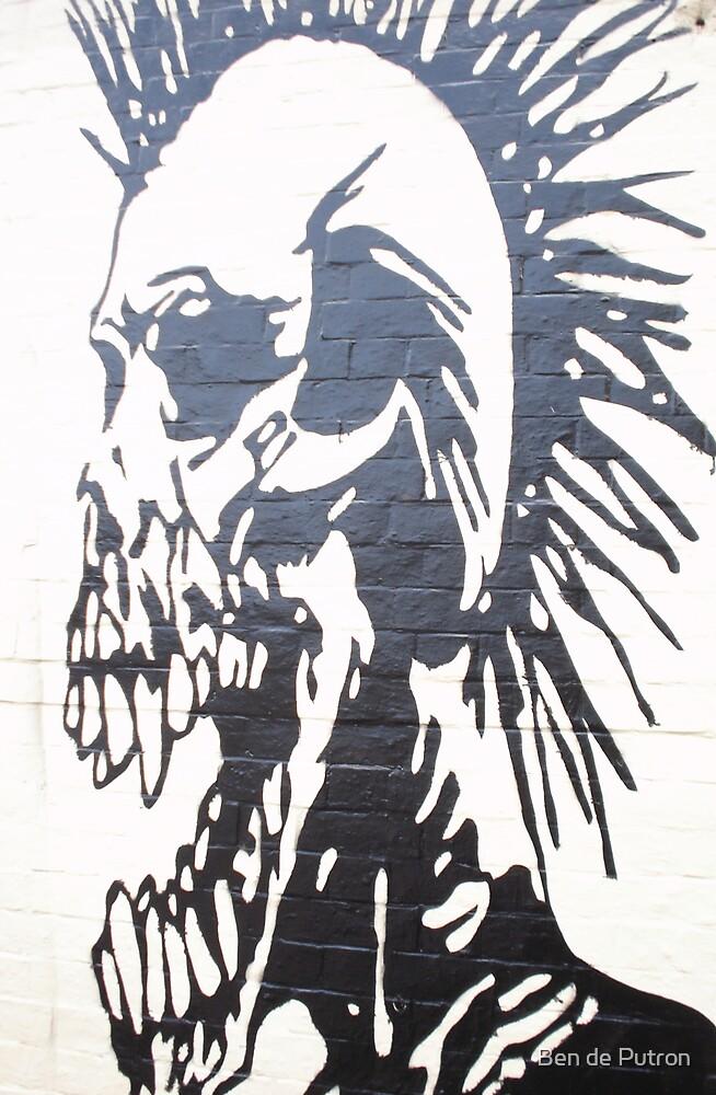 Exploited Graffiti Sydney by Ben de Putron