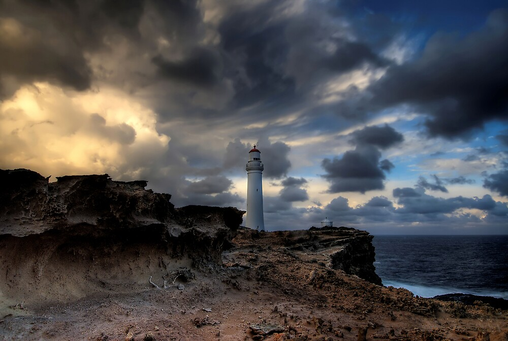 Storming Cape Nelson by Robert Mullner