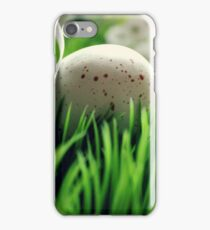 Spring Photography- Easter Egg in the Grass iPhone Case/Skin