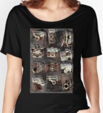 Vintage cameras Women's Relaxed Fit T-Shirt
