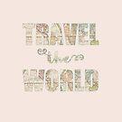 «Travel the world» de imaginadesigns