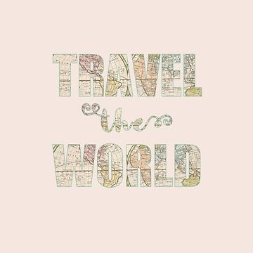 Travel the world de imaginadesigns