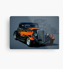 "1934 Ford Hot Rod ""The California Kid"" Metal Print"