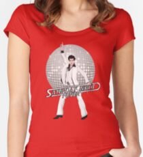 Saturday Night Fever Fitted Scoop T-Shirt