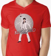 Saturday Night Fever V-Neck T-Shirt