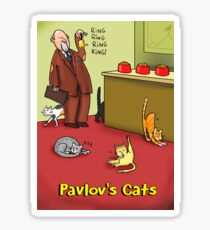 Pavlov's Cats Sticker