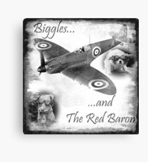 Biggles And The Red Baron Canvas Print
