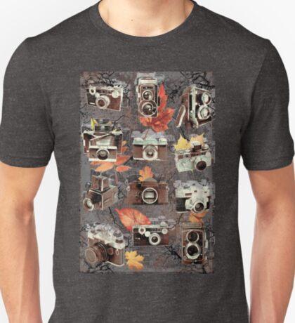Vintage cameras ( Autumn ) T-Shirt