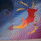 Fire spirit by Derek Trayner
