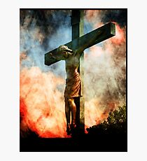 Obedience To His Heavenly Father  Photographic Print