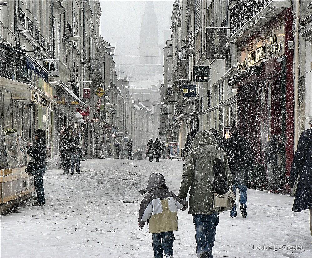 Urban winter... by Louise LeGresley