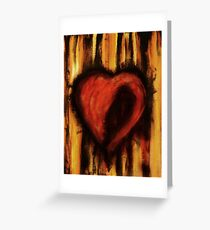 Blackheart Greeting Card