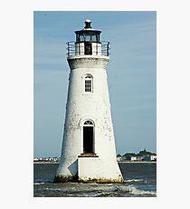 The Cockspur Lighthouse Photographic Print