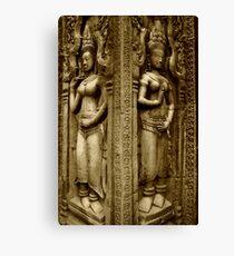 Around Angkor Canvas Print