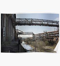 Urban Exploration - Coke Coal Factory Poster