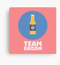 Team Groom Stagparty R8h55 Canvas Print
