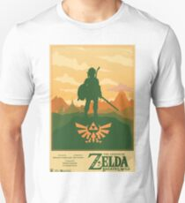 Legend of Zelda: Breath of the Wild Poster Unisex T-Shirt