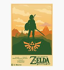 Legend of Zelda: Breath of the Wild Poster Photographic Print