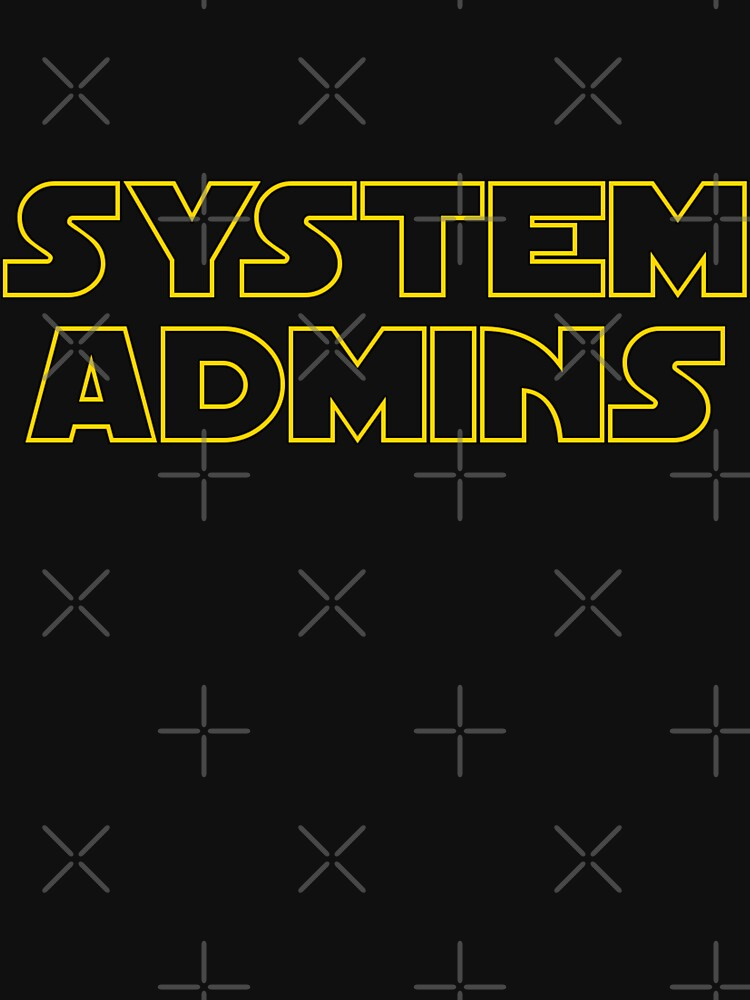 system admins by yourgeekside