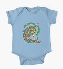 Narwhal Believes in You One Piece - Short Sleeve