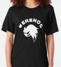 White Werehog Slim Fit T-Shirt