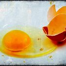 Broken egg by Silvia Ganora