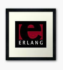 earlang programming language Framed Print
