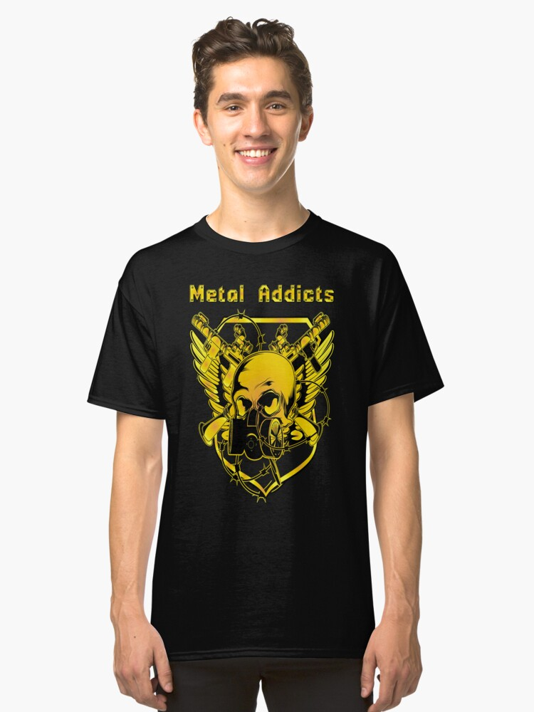 Metal Addicts Classic T-Shirt Front