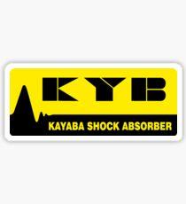 KYB Fan Vintage Japan Racing Decal Sticker Sticker