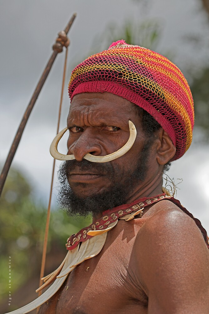 Yali warrior by blepharopsis