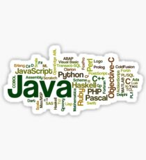 programming languages cloud java Sticker